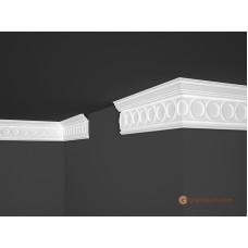 Потолочный плинтус с орнаментом, багет Marbet B30 28*81MM