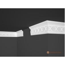 Потолочный плинтус с орнаментом, багет Marbet B31 28*81MM