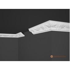 Потолочный плинтус с орнаментом, багет Marbet B4 46*46MM