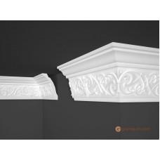 Потолочный плинтус с орнаментом, багет Marbet B43 87*135MM