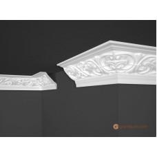 Потолочный плинтус с орнаментом, багет Marbet B44 89*89MM