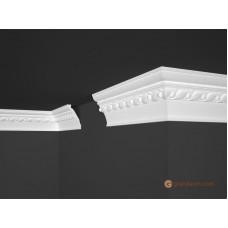 Потолочный плинтус с орнаментом, багет Marbet B48 72*124MM