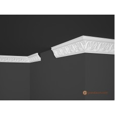 Потолочный плинтус с орнаментом, багет Marbet B5 34*56MM