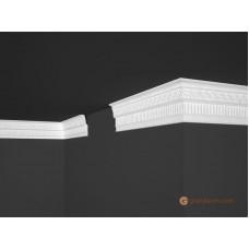 Потолочный плинтус с орнаментом, багет Marbet B50 36*99MM