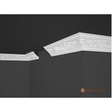 Потолочный плинтус с орнаментом, багет Marbet B6 53*53MM