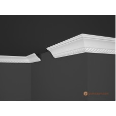 Потолочный плинтус с орнаментом, багет Marbet B7 53*53MM