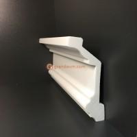 Лепнина Perimeter DP карниз с гладким профилем PC-104.052.01 * 240см