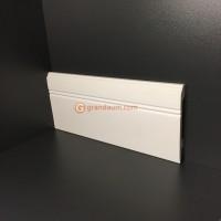Лепнина Perimeter DP напольный плинтус с гладким профилем SB-109.012.06 * 240см