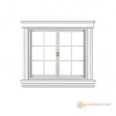 Обрамление окон для фасада решение 3