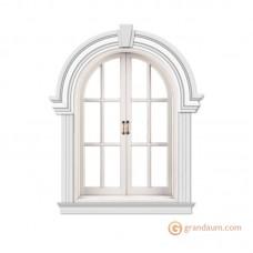 Обрамление окон для фасада решение 4