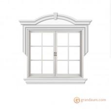 Обрамление окон для фасада решение 7