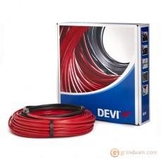 Нагревательный кабель DEVI Devi-Pipeguard двужильный (25м, красный)