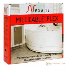 Нагревательный кабель Nexans MILLICABLE двужильный (100м, FLEX/2R 1000/10)
