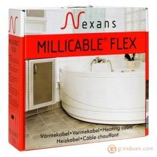 Нагревательный кабель Nexans MILLICABLE двужильный (40м, FLEX/2R 400/10)