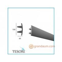 Карниз для скрытого освещения Tesori KF 503 (2.44м)