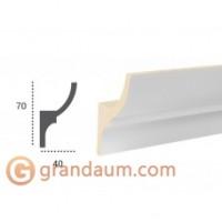 Карниз для скрытого освещения Tesori KF 701 (2.44м)