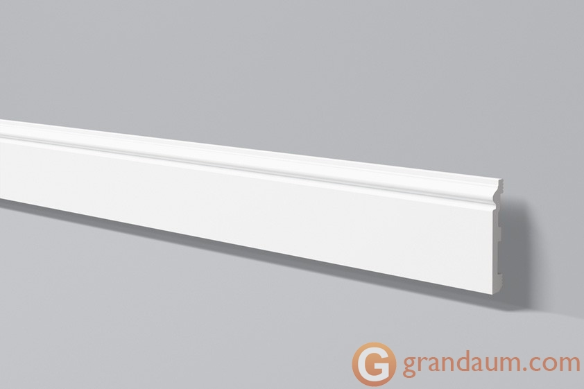 Напольный плинтус с гладким профилем NMC FL2 (2,00м)