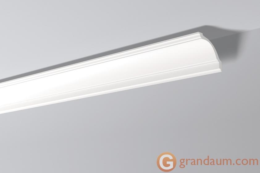 Потолочный плинтус с гладким профилем NMC GP